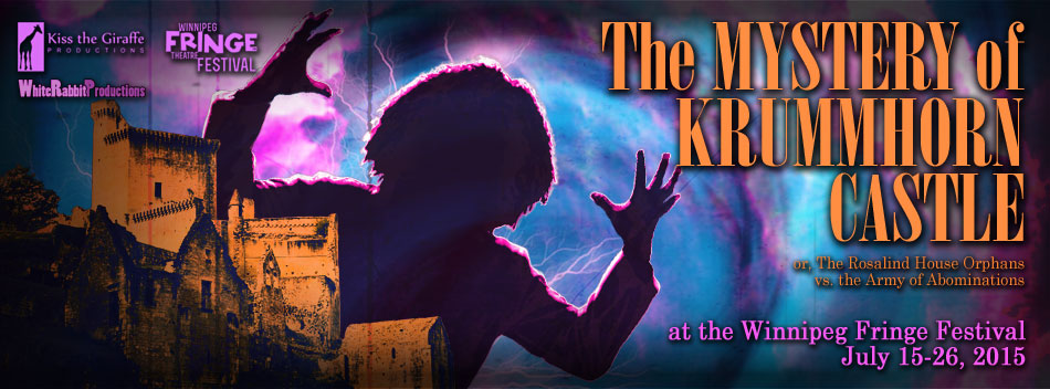 Kiss the Giraffe Productions - Current Production - The Mystery of Krummhorn Castle